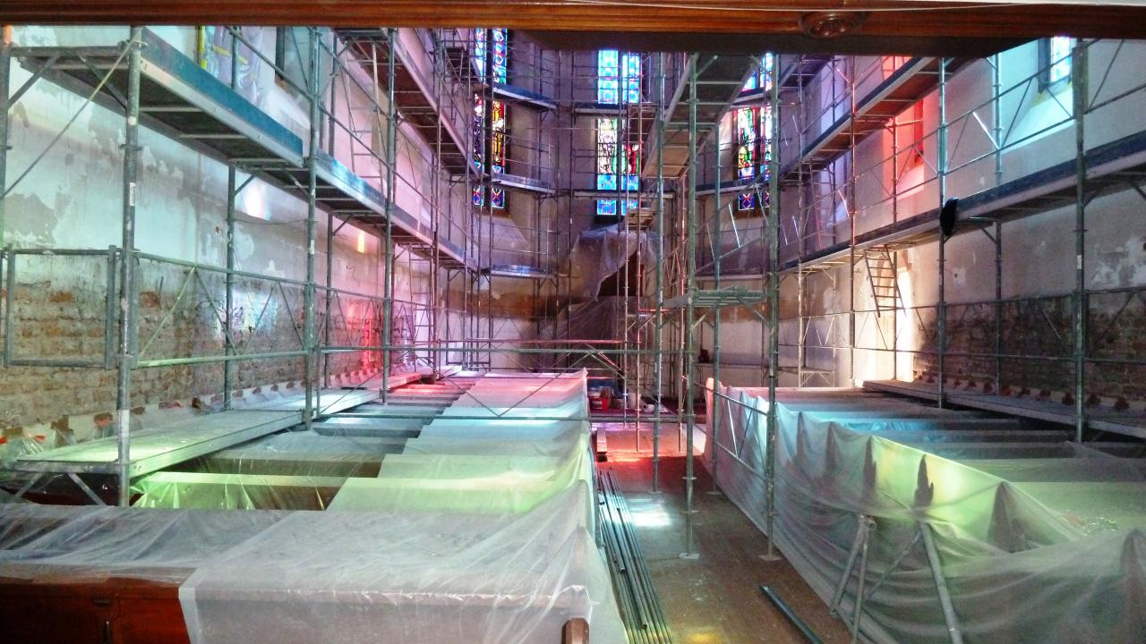 Renovation d'église